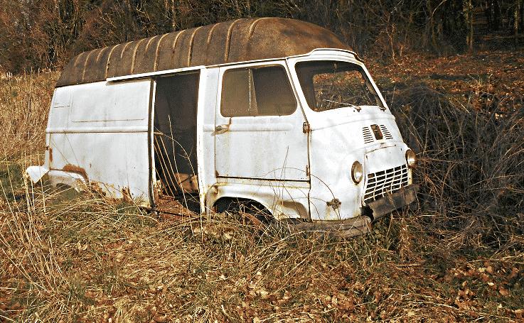 Camion en mauvais état